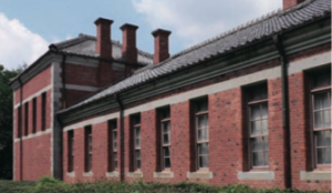 Gedung bersejarah Kumamoto University