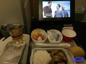 konsumsi di pesawat