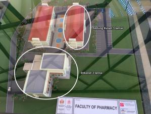 gedung farmasi baru